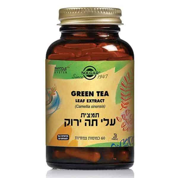 עלי תה ירוק – סולגאר
