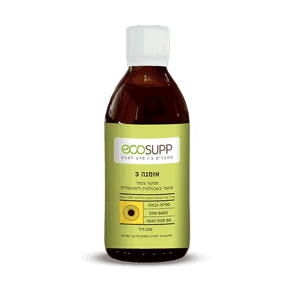 אומגה 3 ליפוזומלית צמחית – אקוסאפ