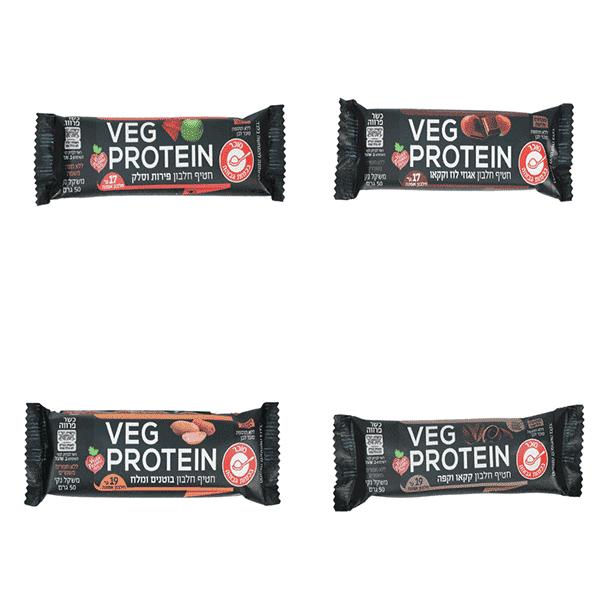 חטיף חלבון טבעוני – Veg Protein