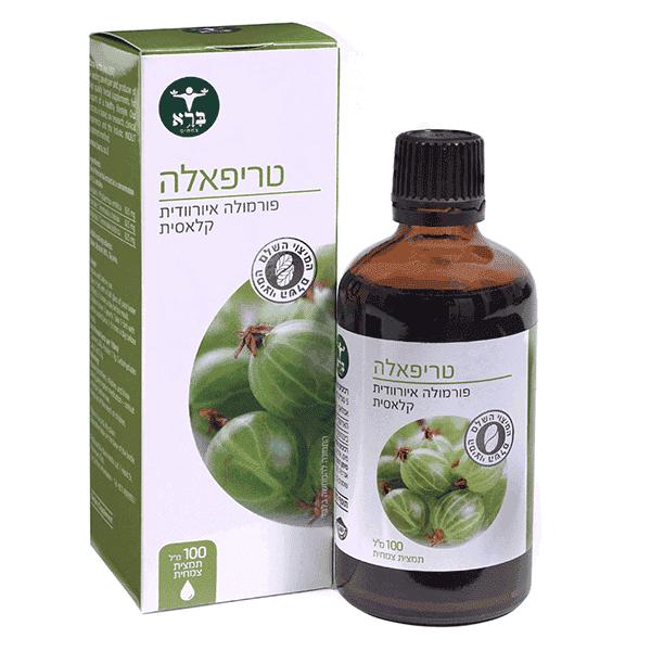 """טריפאלה (תמצית נוזלית 100 מ""""ל) – ברא צמחים"""