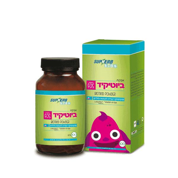 ביוטיקיד – אבקת פרוביוטיקה לילדים (100 גרם) – סופהרב