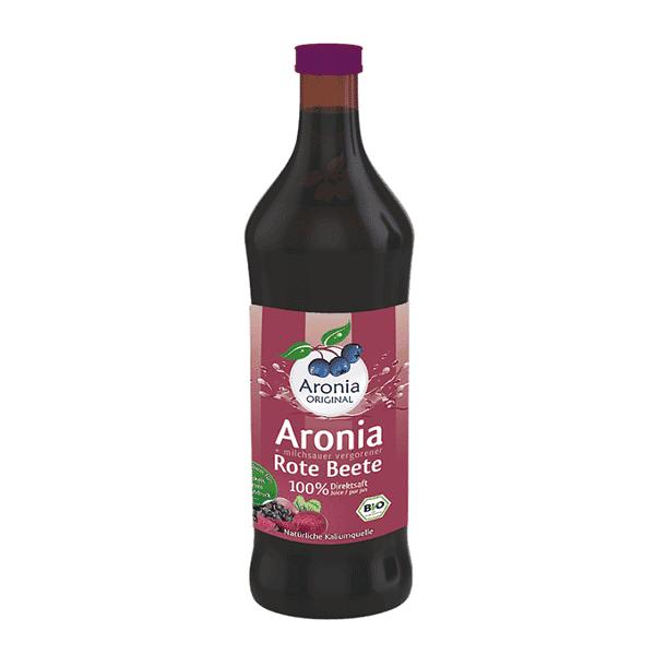 """משקה ארוניה + 27% סלק טבעי/אורגני 700 מ""""ל – עולם של טבע"""