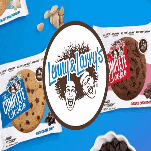 עוגיית חלבון טבעוני קומפליט - לני & לארי'ס - Lenny & Larry's