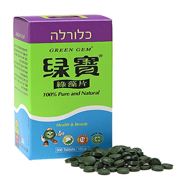 כלורלה גמוקה – Chlorella green gem