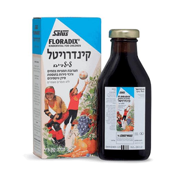 קינדרויטל פרוטי – מולטי ויטמין ללא גלוטן – גרמזה Gramse