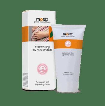 קרם פוליגונום להבהרת כתמי עור – מורז Moraz