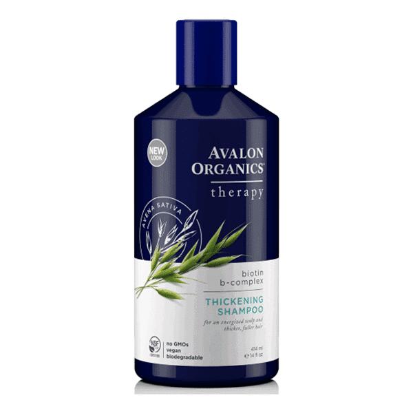 שמפו ביוטין לשיקום וחיזוק סיב השיער – אבלון אורגניקס