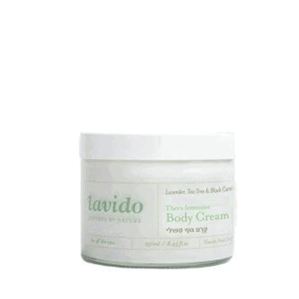 קרם גוף טיפולי – לבידו Lavido