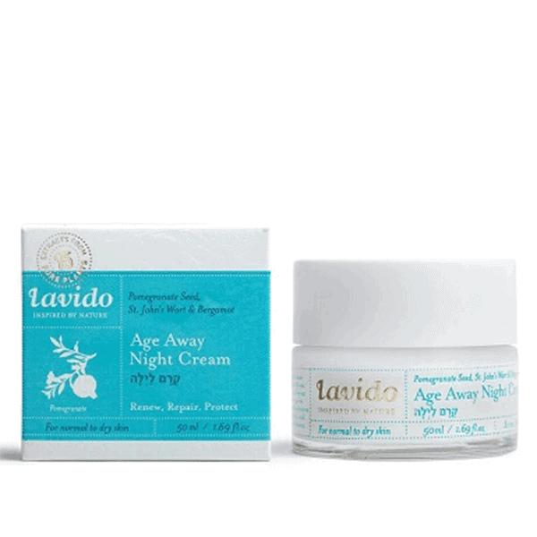 קרם לילה לעור רגיל עד יבש (קרם פנים) – לבידו Lavido