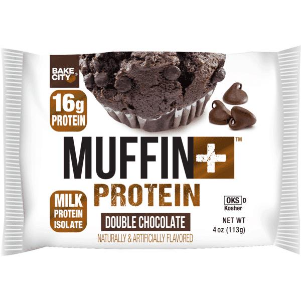 חטיף חלבון 16 גרם חלבון - מאפין MUFFIN PROTEIN בטעם דאבל שוקולד