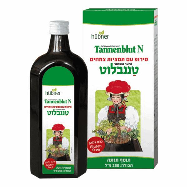 """טננבלוט N – סירופ תמצית צמחים – 250 מ""""ל – טננבלוט הובנר"""