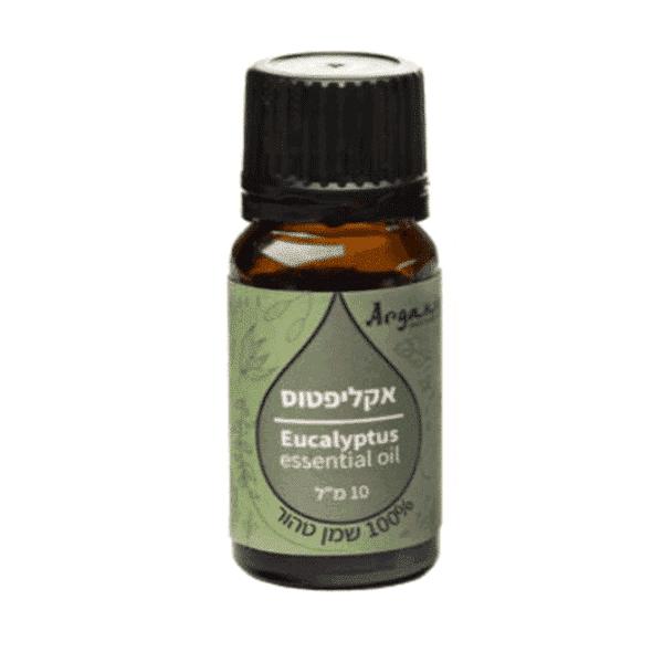 """שמן אקליפטוס 100% טהור (10 מ""""ל) – ארגניה"""