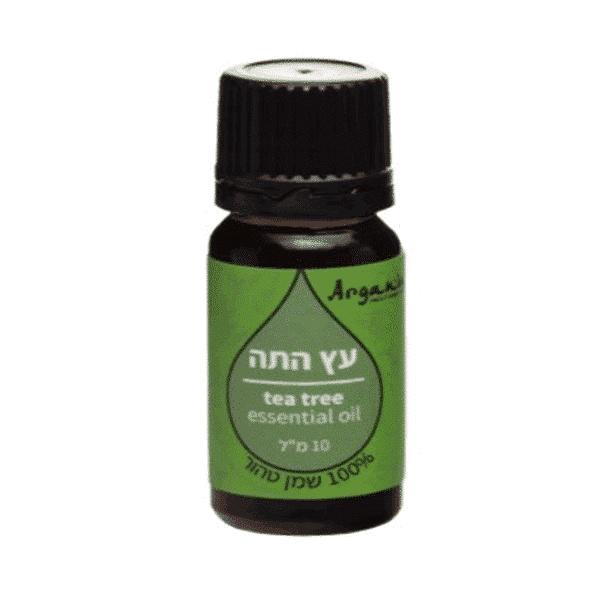 """שמן עץ התה 100% טהור (10 מ""""ל) – ארגניה"""