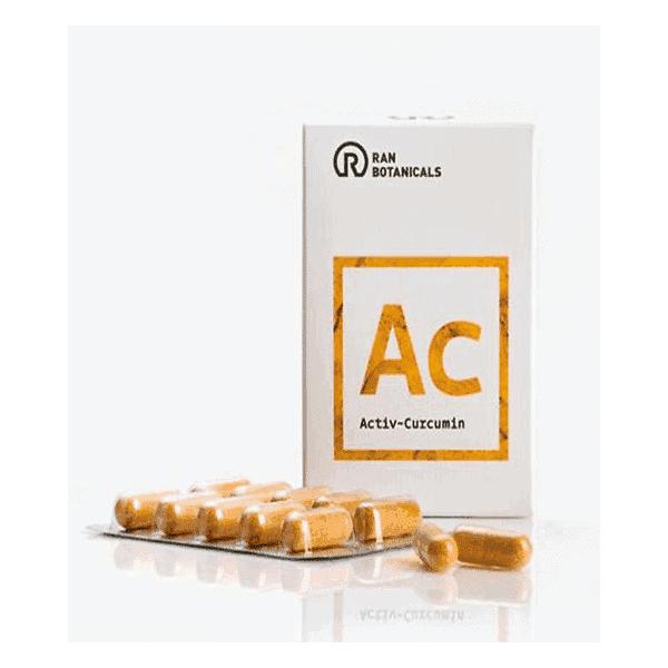 Ac אקטיב כורכומין – 30 כמוסות – ראן בוטניקלס