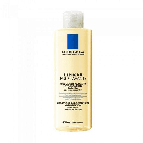 ליפיקאר שמן רחצה לעור יבש – 400 מ״ל – לה רוש פוזה