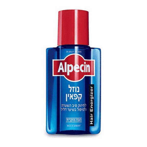 """נוזל קפאין – 200 מ""""ל – אלפסין Alpecin"""