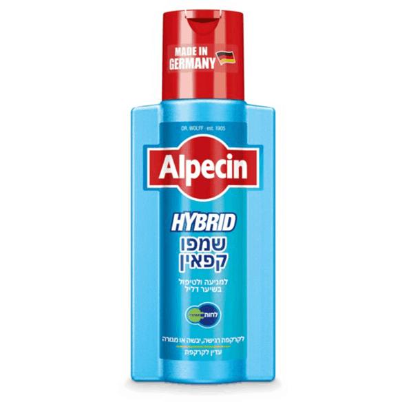 שמפו קפאין היברידי – אלפסין Alpecin