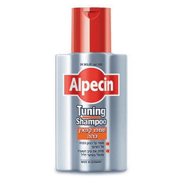 """שמפו קפאין כהה – 200 מ""""ל – אלפסין Alpecin"""