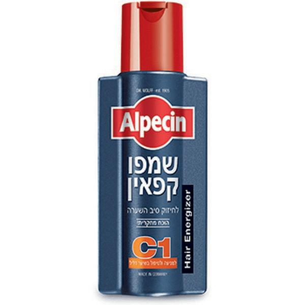"""שמפו C1 קפאין – 250 מ""""ל – אלפסין Alpecin"""