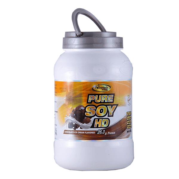 אבקת חלבון סויה HD (700 גרם) בטעמים שונים – פאוורטק