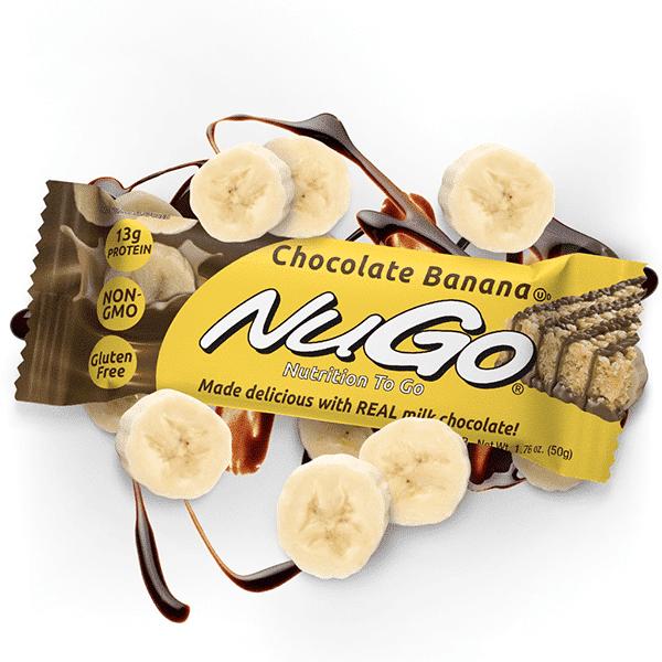 חטיף חלבון בטעם שוקולד בננה - נוגו