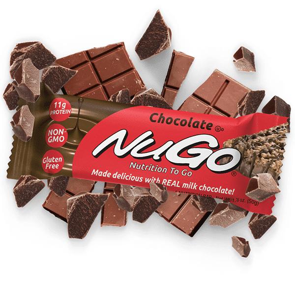 חטיף חלבון בטעם שוקולד חלב - נוגו