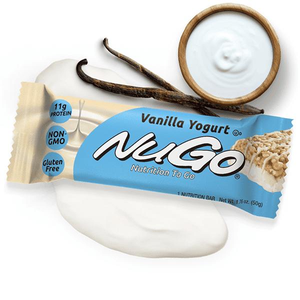חטיף חלבון יוגורט וניל - נוגו