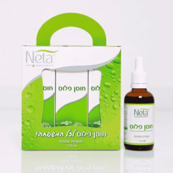 מארז חוסן פלוס – לחיזוק מערכת החיסון – נטע – Neta