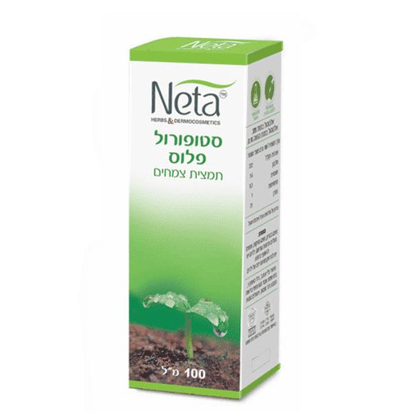 """סטופורול פלוס להורדת כולסטרול – 100 מ""""ל -נטע – Neta"""