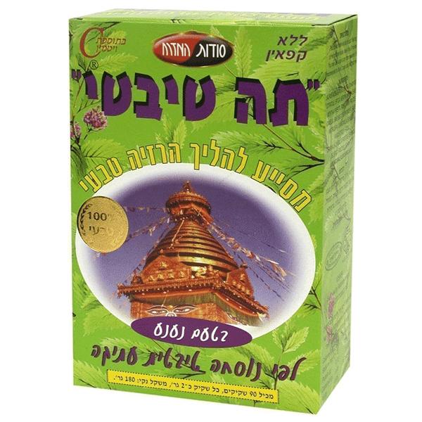 תה טיבטי נענע - סודות המזרח