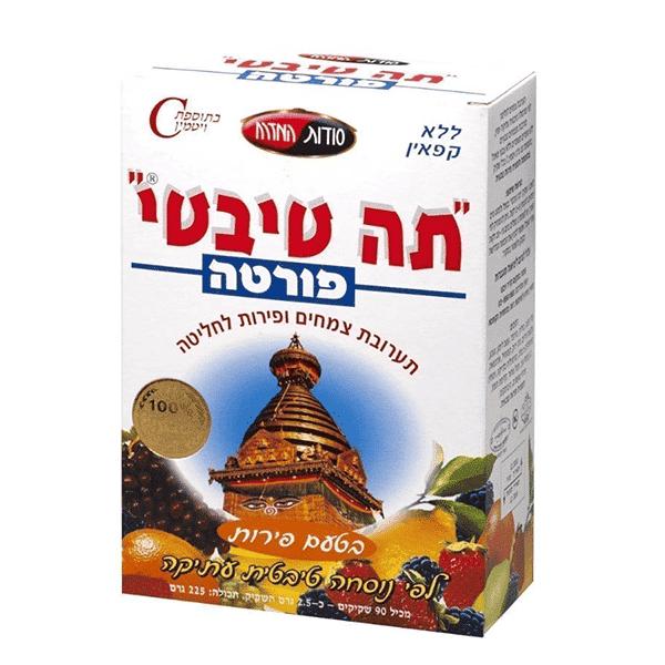 תה טיבטי – בטעמים שונים – 90 שקיקים – סודות המזרח