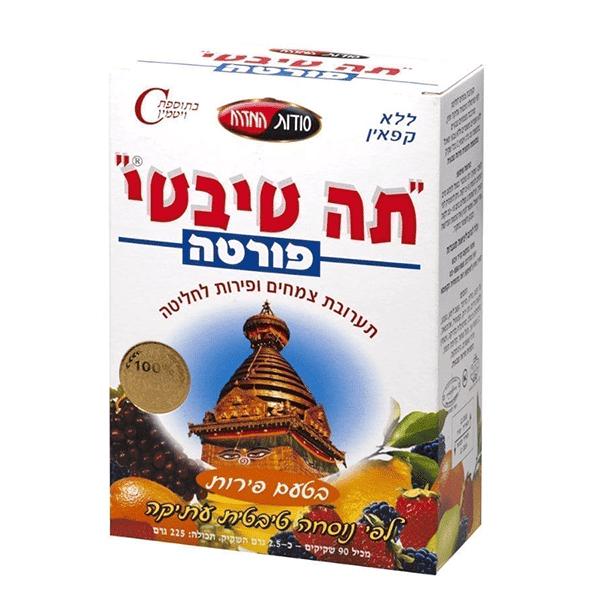 תה טיבטי פורטה פירות - סודות המזרח
