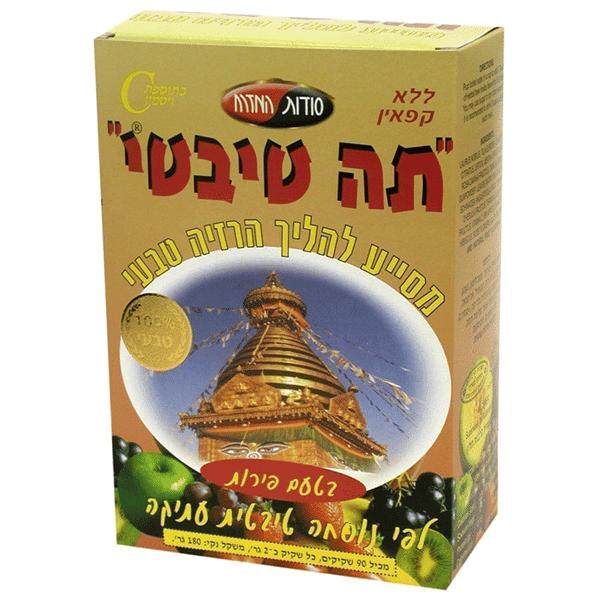 תה טיבטי פירות - סודות המזרח