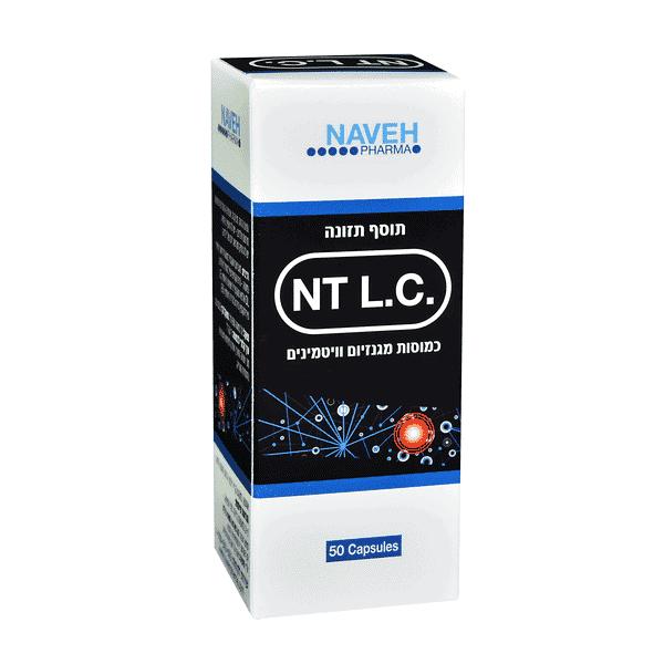 NT L.C – אנטי לג Anti Leg (50 כמוסות) – נווה פארמה