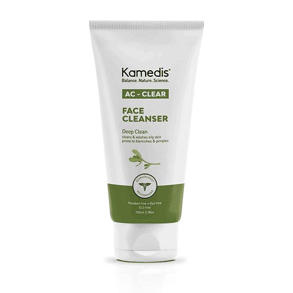 """ג'ל טיפולי לניקוי פנים לעור שמן הנוטה לפצעונים – 100 מ""""ל – קמדיס"""